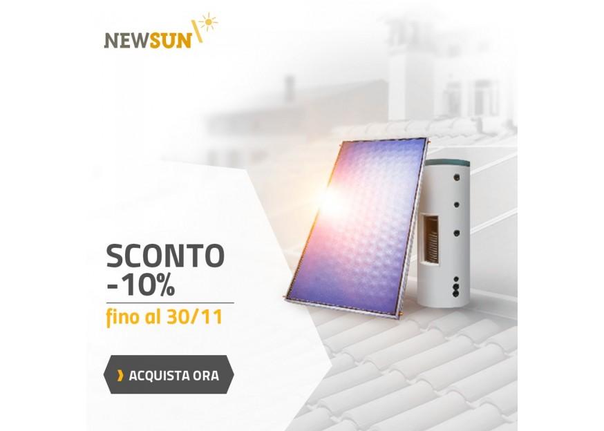 impianto solare termico newsun pannelli solari fotovoltaico pompe di calore