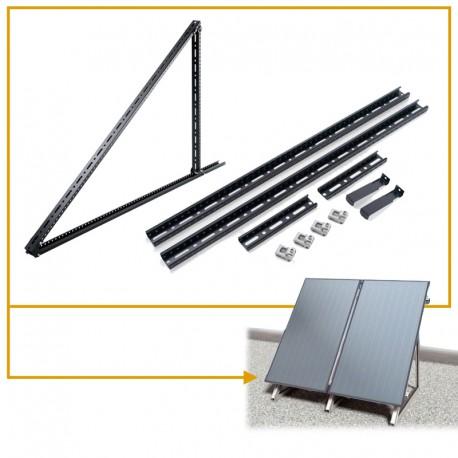 pannelli solari staffe di montaggio tetto piano Newsun