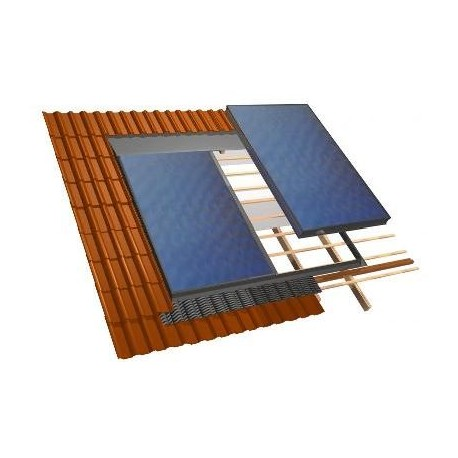 sistema di fissaggio per pannelli solari