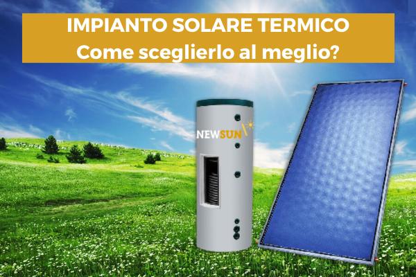 impianto solare termico newsun